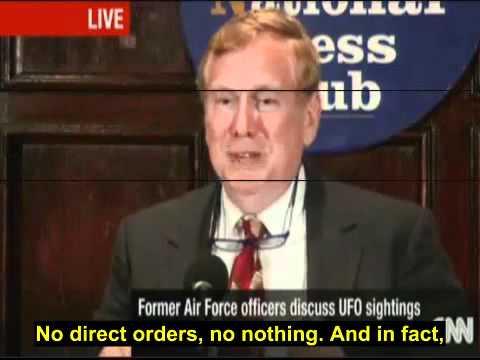 UFO Disclosure Press Conference National Press Club 27 September 2010 CNN subtitles
