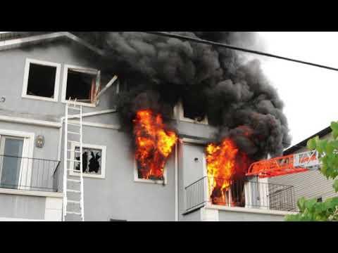Watch: Neighbors recount Saturday's raging inferno in New Springville