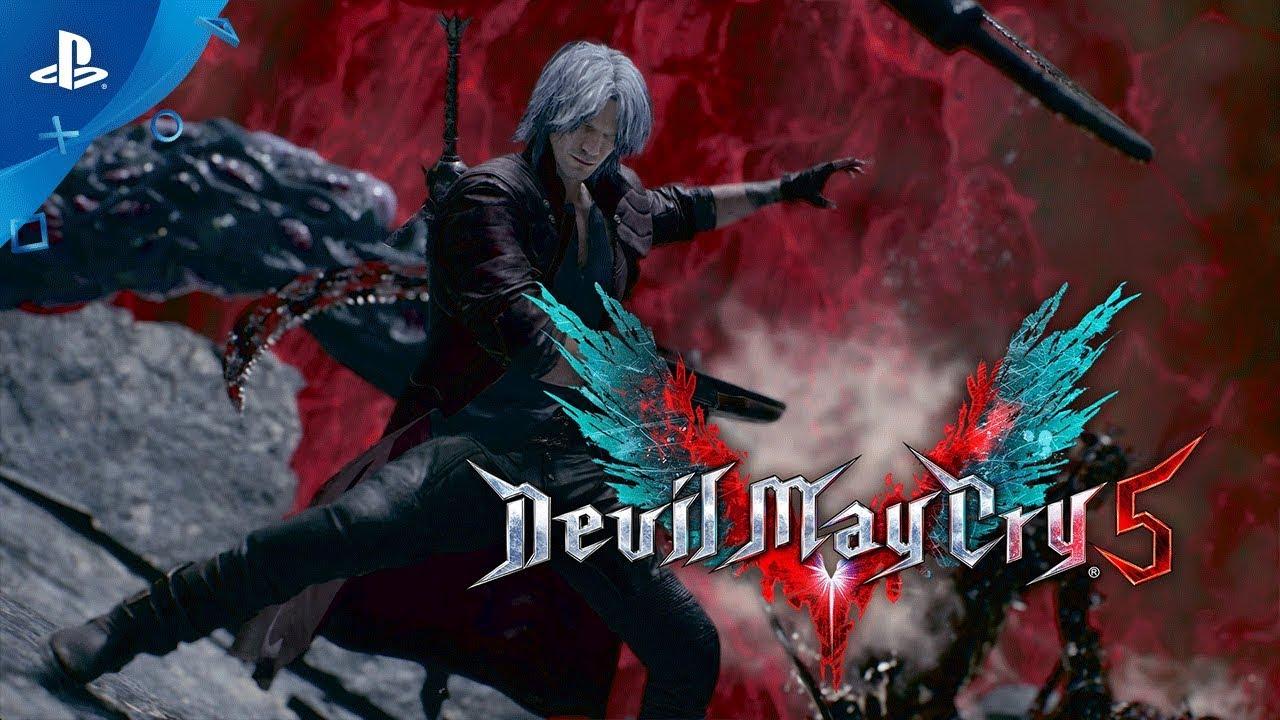 Посмотрите, как Данте и Неро с оружием Мегамена убивают демонов в Devil May Cry 5 — геймплей