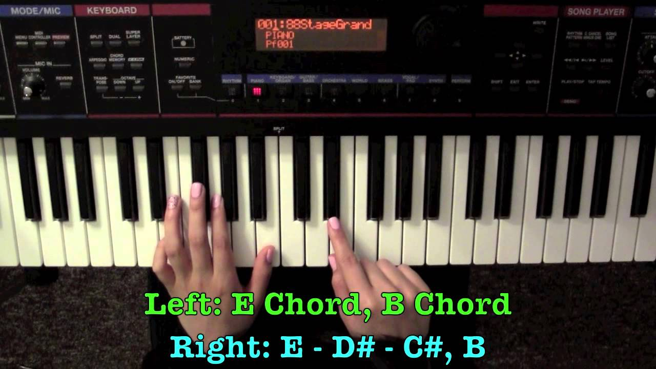 Let it rain jesus culture piano tutorial youtube hexwebz Images