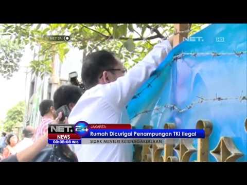 Menteri Ketenagakerjaan, Hanif Dhakiri, Sidak ke Rumah Penampungan TKI -NET24
