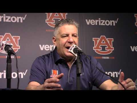Watch Auburn's Bruce Pearl Discuss Top 5 Win