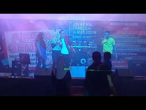 Abby Amran & Haikal Azman Gurauan Berkasih show Teluk Intan