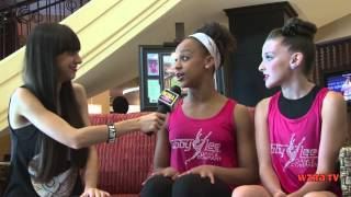Dance Moms: Birthday Edition - Kendall and Nia Interview with Wzra Tv