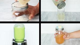 4 Mason Jar Kitchen Hacks