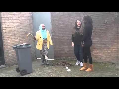 Zero Trash Tilburg - Schakelcollege 2sbm - Hodan, Aminata, Aleyna en ...