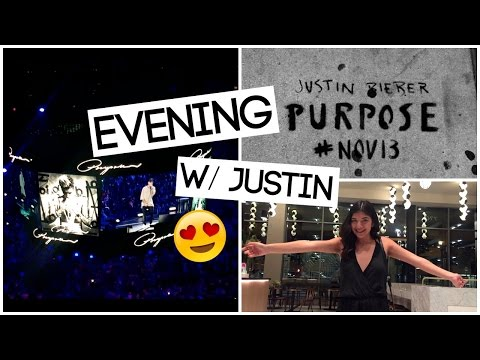 JUSTIN BIEBER PURPOSE RELEASE EVENT! | 11-13-15