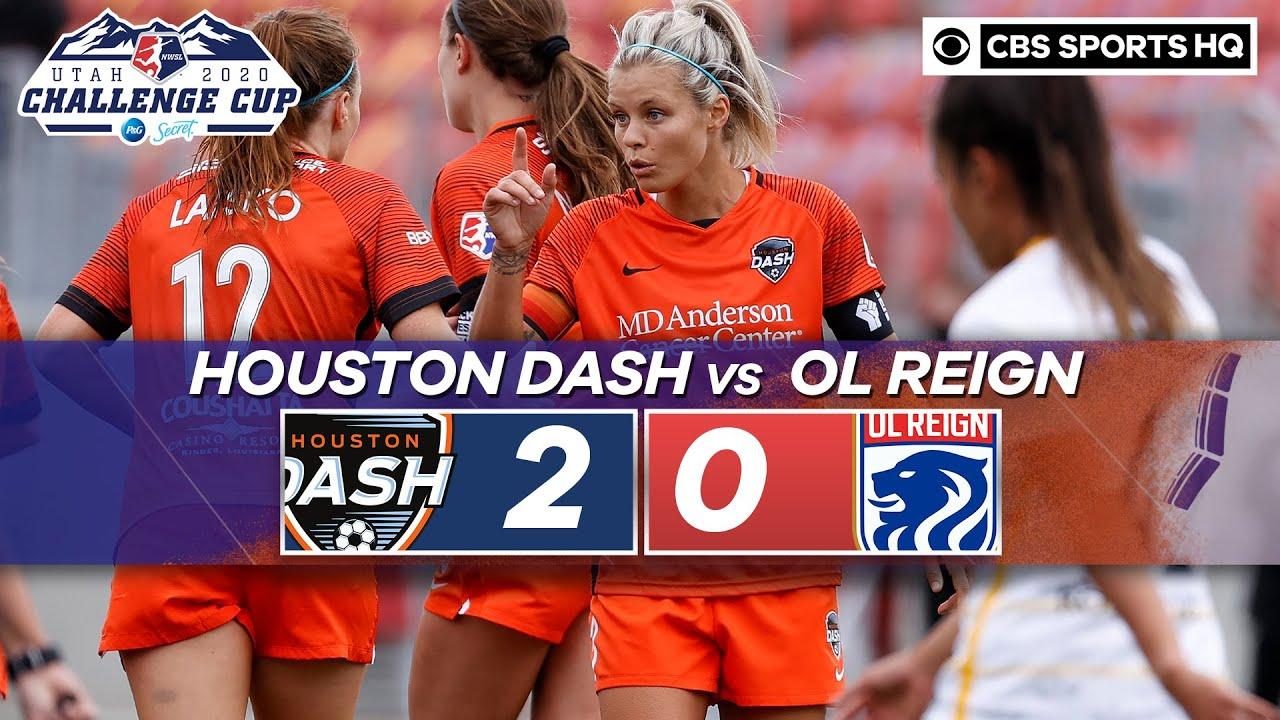 2020 NWSL Highlights: Houston Dash vs. OL Reign | CBS Sports HQ