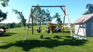 Martin Construction Llc Swing Set Build