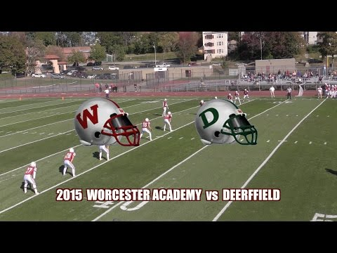 2015 Worcester Academy Football vs  Deerfield