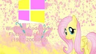 Windows Codename Fluttershy History (1987-2000012)