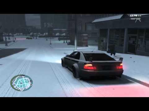 GTA IV - Winter Mod. Обзор и тест!