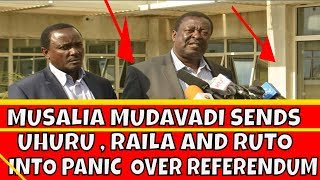 Musalia Mudavadi Surprises Uhuru Kenyatta, Raila Odinga and William Ruto on Referendum Debate