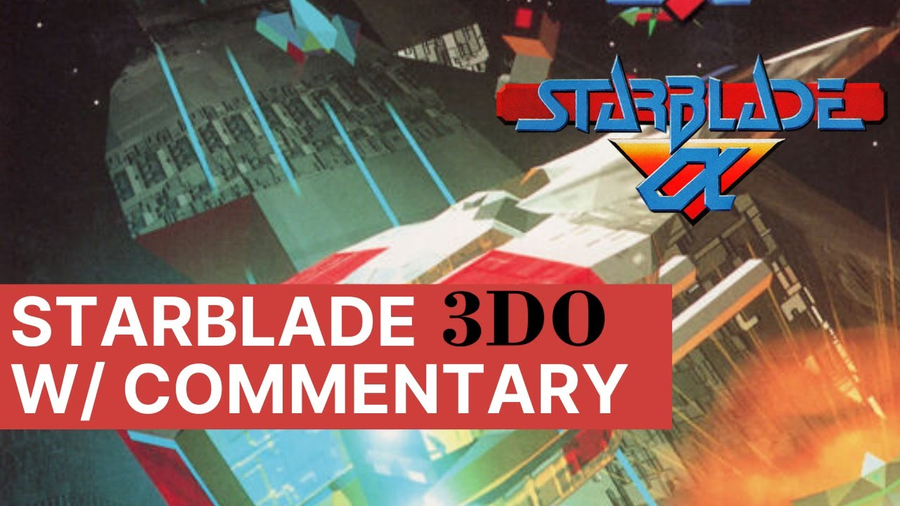 Let's Play Starblade on a Panasonic 3DO With Commentary