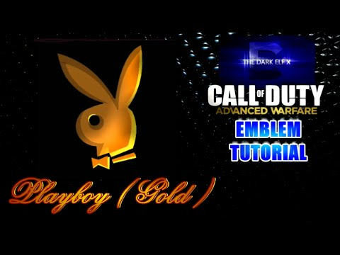 Advanced Warfare Emblem - Playboy ( Gold )
