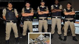 Comando 190 Araxá - Autores de assalto em Santa Juliana são presos durante operação na BR.452.