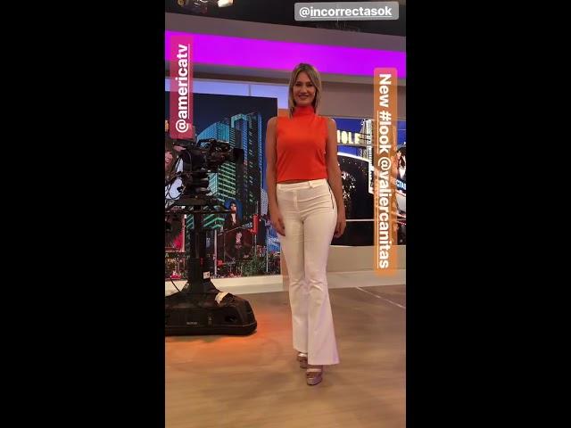 Carolina Losada vueltita sexy