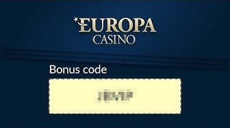 What is the promo code for Europa Casino?
