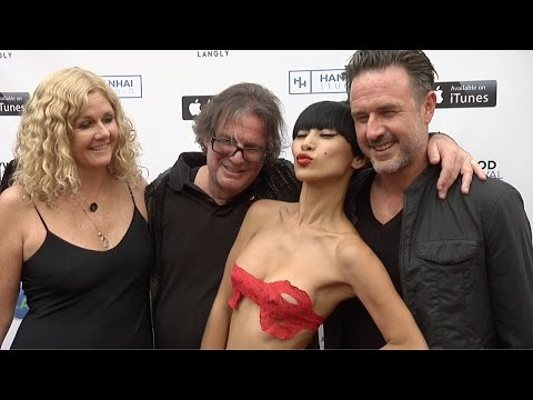 Bai Ling, David Arquette, Penny Marshall // Hollywood Film Festival 2015 ARRIVALS