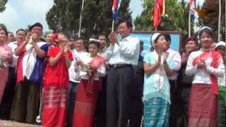 KNU Opening Liaison New Office Three Pagoda more.. http://burmese.m...