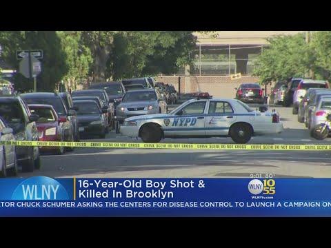 Teen Shot Dead In East New York
