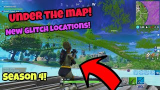 Fortnite Glitches Season 4 (New working) Get inside anywhere under the map PS4/Xbox one 2018