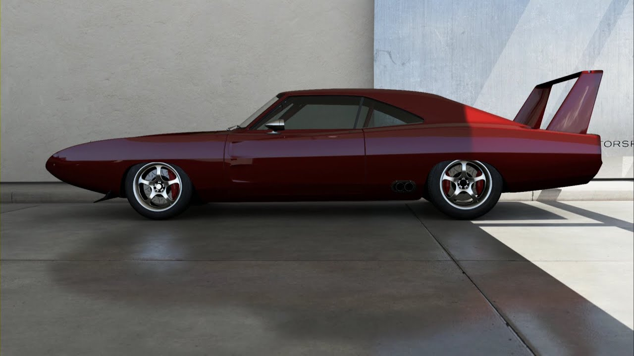 forza motorsport 6 1969 dodge charger daytona fast furious edition - Dodge Charger 1969