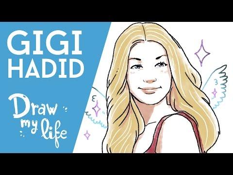 GIGI HADID - Draw My Life en Español