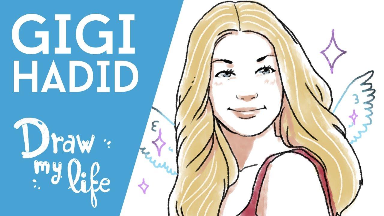 GIGI HADID - Draw My Life