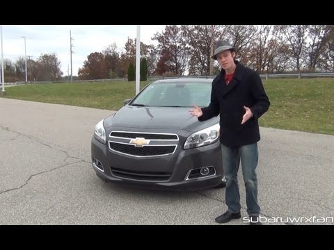 Review: 2013 Chevy Malibu