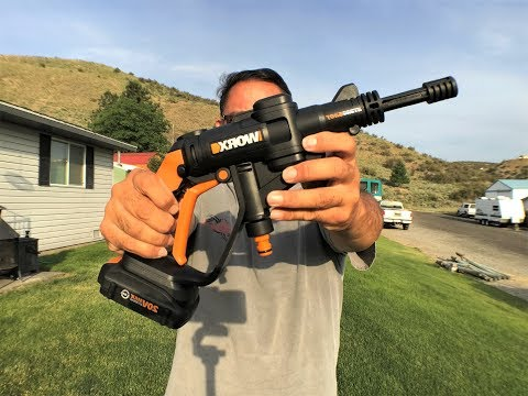 Worx Hydroshot 20V Cordless Power Cleaner With Accessories #worxhydroshot