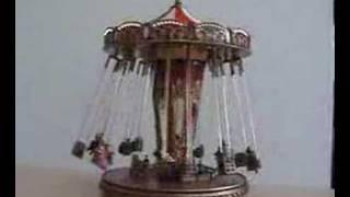 Kettenkarussell Mr Christmas Jahrmarkt Spieluhr