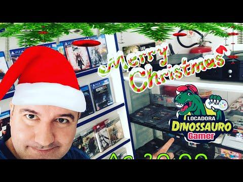 Feliz Natal e um Próspero 2020 ! CANAL DINOSSAURO GAMER |