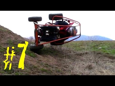 Homemade Go-Karts Episode #7 (Crashes)