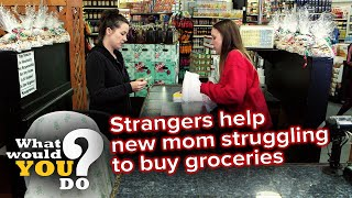 Mom living in poverty takes from cash register | WWYD