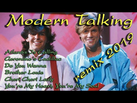 MODERN TALKING REMIX 2019 - The Special Mix Diskoteka 80