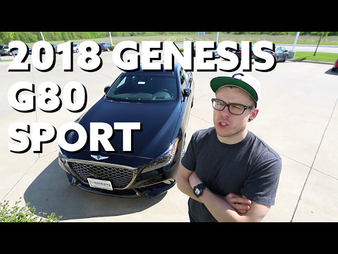 2018 Genesis G80 Sport Hands on First Look