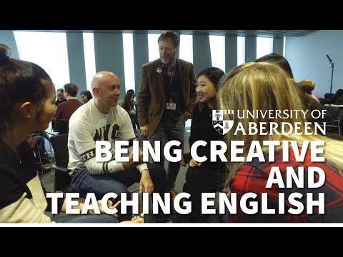 Being Creative and Teaching English