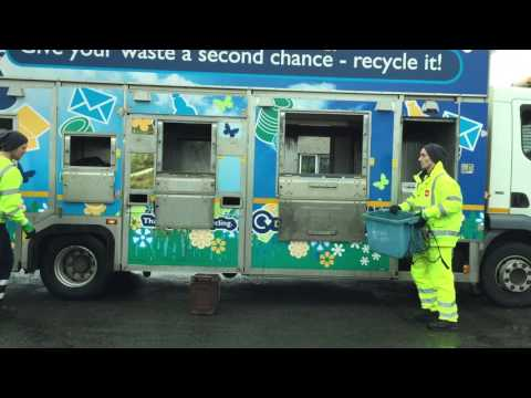 Isle of Anglesey County Council: collection of all recycling on a single vehicle