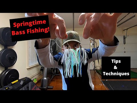Lewis Smith Lake BASS Fishing! Tips & Techniques For Springtime Bass Fishing!