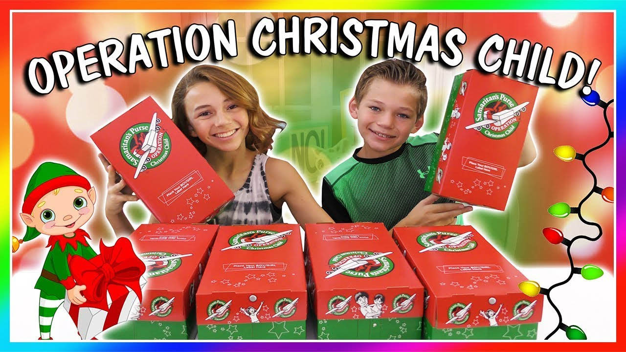 Shoebox Packing Party for Operation Christmas Child in Bishop @ Bishop City Park   Bishop   California   United States