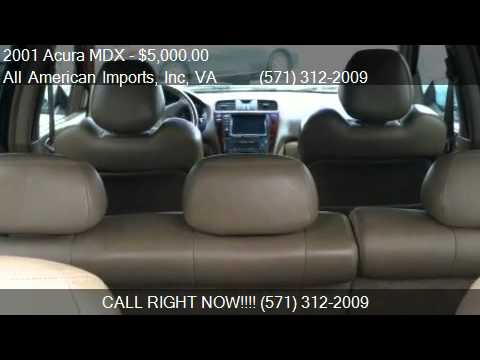 2001 acura mdx touring w nav system for sale in. Black Bedroom Furniture Sets. Home Design Ideas