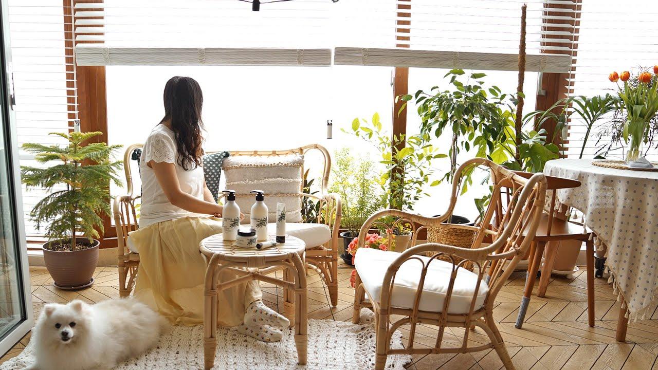 예쁜 일상을 위한 5가지 팁⛅   치즈 파니니, 레몬 케이크 5 Tips for my ideal morning routine