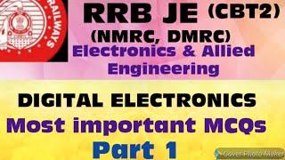 Rrb je digital electronics important mcqs part 1