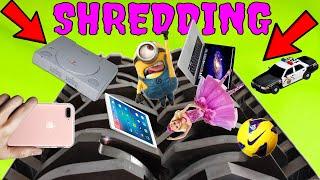 EXPERIMENT: EXPENSIVE STUFF VS SHREDDER ! Expensive Things Shredding Compilation