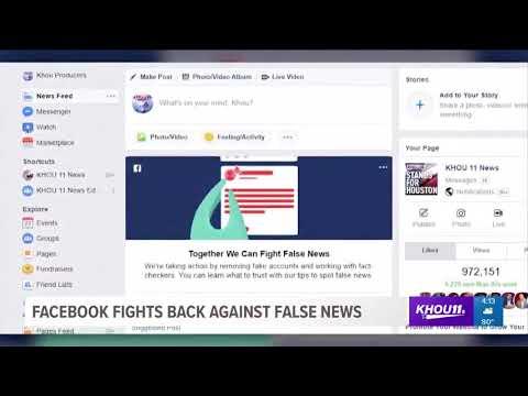 Facebook announces plan to remove fake accounts