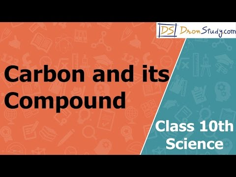 Carbon and its Compound : CBSE Class 10 X Science (Chemistry) | Video lecture in English