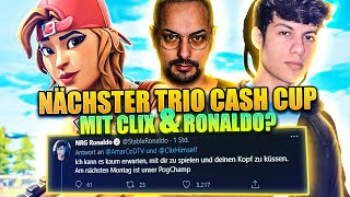 Wird THOMASHD GEBANNT wegen INSTANT LEAVE in FNCS? *ES GIBT BEEF* | Trio Cash Cup Highlights