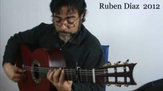 """Rio de la Miel /1 """"buleria por La menor"""" lesson from Luzia by Paco De Lucia / Ruben Diaz GFC Malaga"""