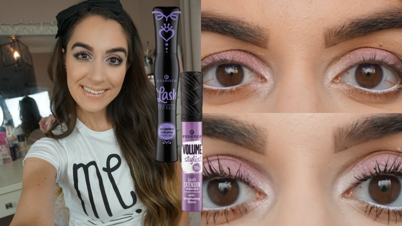 c3f83c0f7d4 NEW ESSENCE MASCARAS ! | LASH PRINCESS SCULPTED + VOLUME STYLIST | DRUGSTORE